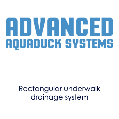 Image showing Advanced Aquaduck logo and products offered