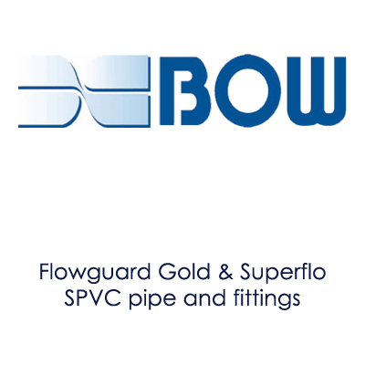 image showing Bow logo and information about their products