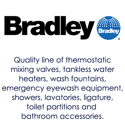 Image showing Bradley logo and products offered