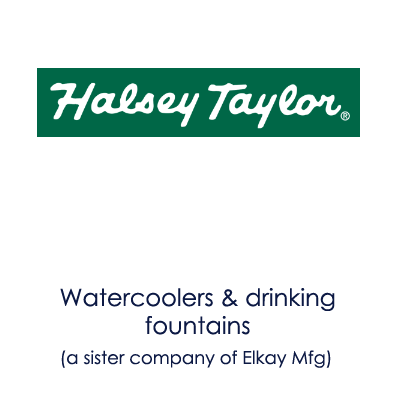 image showing Halsey Taylor logo and information about their products