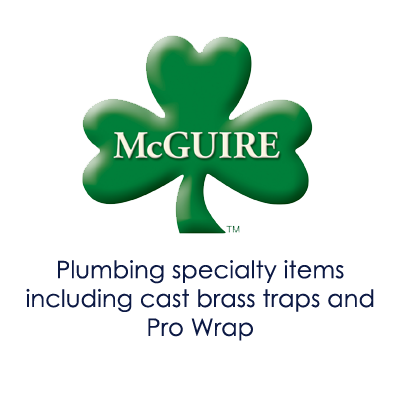 Image showing McGuire logo and products offered