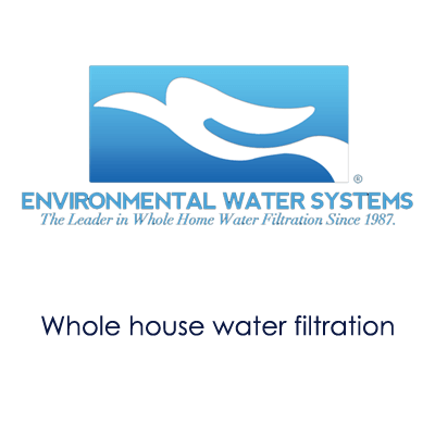 image showing Enviromental Water Systems logo and information about their products